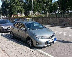 Toyota Auris (Categoria B)